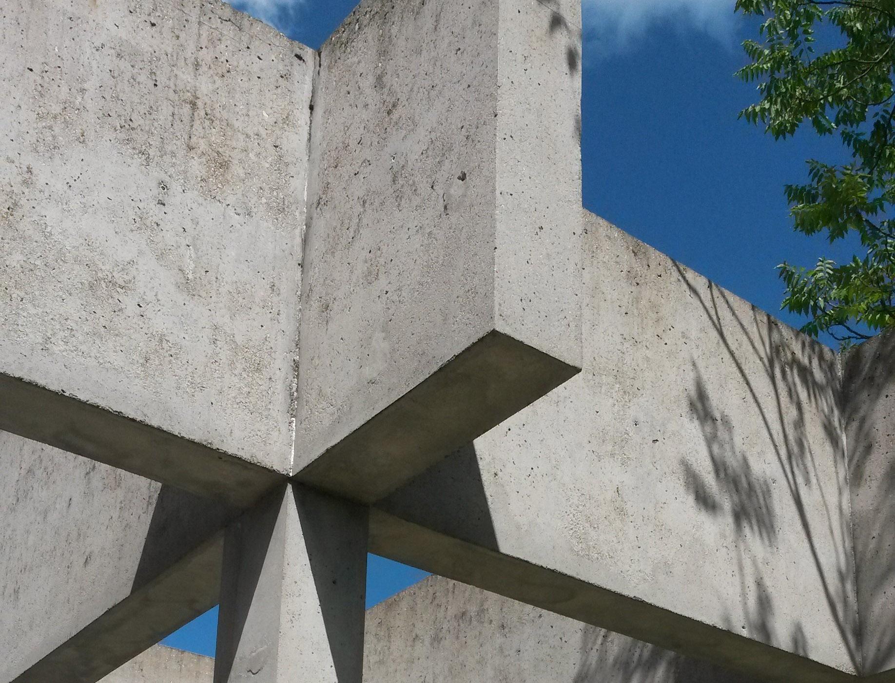 Sammlung Domnick, Detail Terrasse; Foto: Staatsanzeiger für Baden-Württemberg, Cornelia Lindenberg