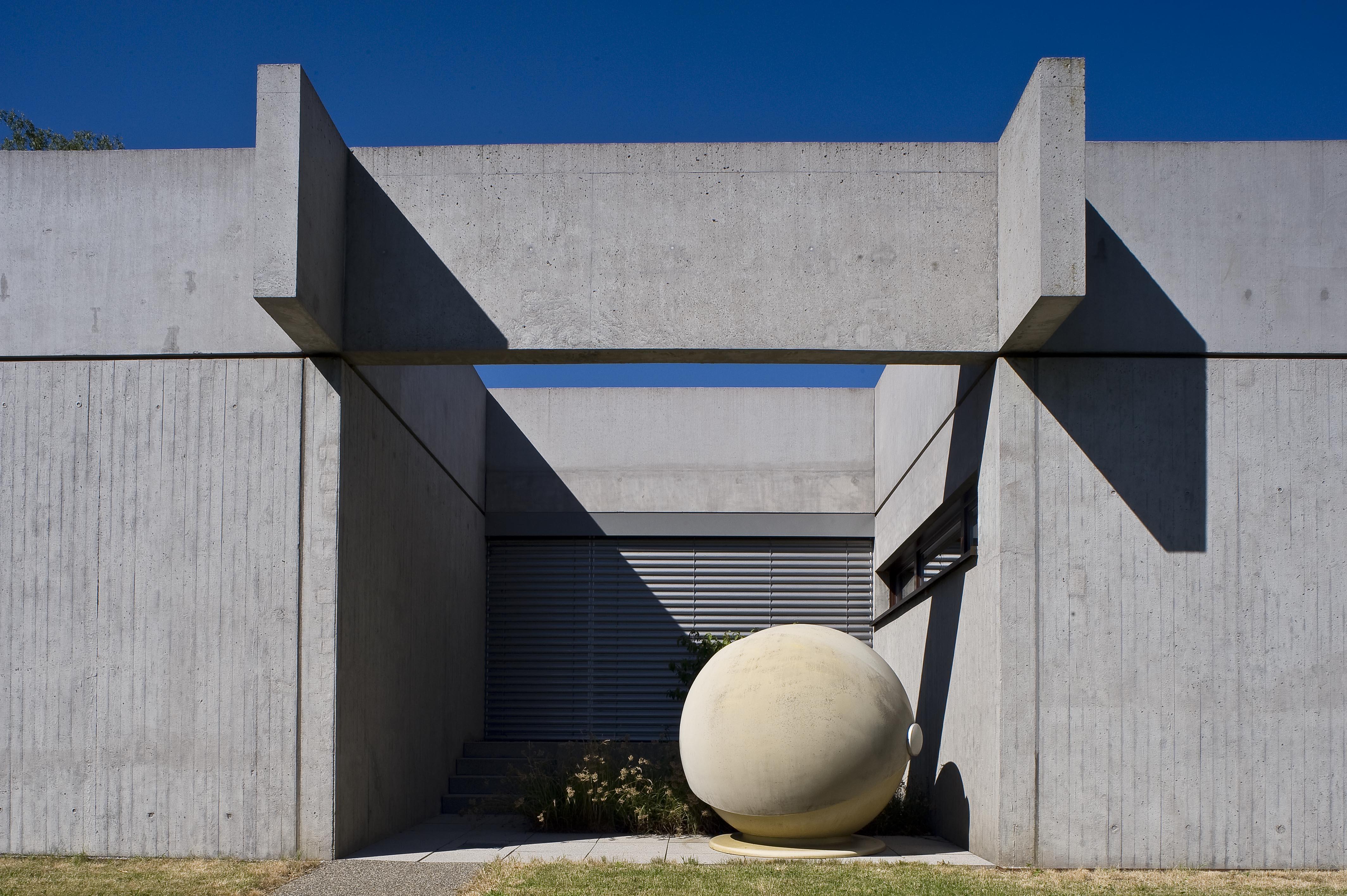 Die Sammlung Domnick, Südfassade; Foto: Stiftung Domnick, Rose Hajdu