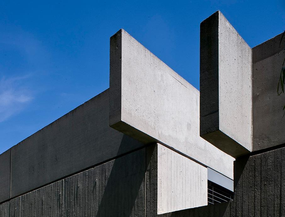 Sammlung Domnick, Detail Westfassade; Foto: Stiftung Domnick, Rose Hajdu