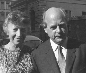 Greta und Ottomar Domnick 1962