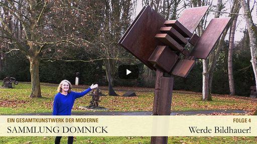 """Startbildschirm des Films """"Werde Bildhauer!"""""""