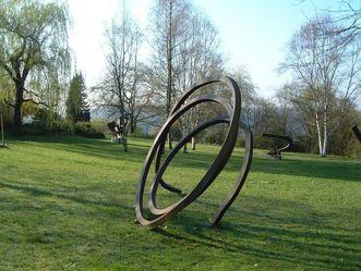 Sammlung Domnick, Skulptur im Garten