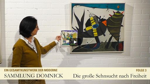 """Startbildschirm des Films """"Die große Sehnsucht nach Freiheit"""""""