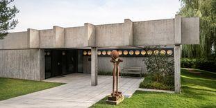 Sammlung Domnick, Blick auf das Gebäude und den Eingang