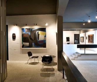 Innenräume der Villa Domnick; Foto: Stiftung Domnick, Rose Hajdu