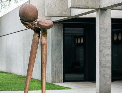 """Sammlung Domnick, Plastik von Max Schmitz """"o.d."""", 1977"""